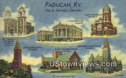 St. Francis De Sales Catholic Church - Paducah, Kentucky KY Postcard