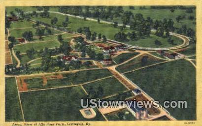 Idle Hour Farm - Lexington, Kentucky KY Postcard