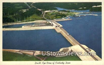 Kentucky Dam, Kentucky, KY, - Kentucky Dam Postcards Postcard