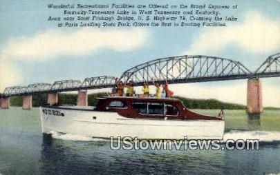 Kentucky-Tennessee Lake - Gilbertsville Postcard