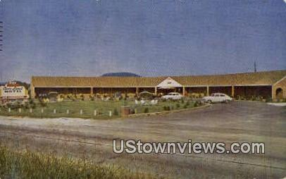 Cave Land Motel - Cave City, Kentucky KY Postcard