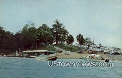 Conley Bottom Dock - Monticello, Kentucky KY Postcard
