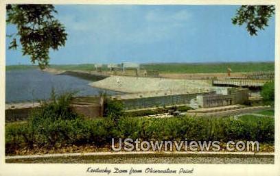 Kentucky Dam - Gilbertsville Postcard