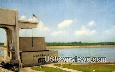 Kentucky Dame & Lake - Kentucky Lake Postcards Postcard