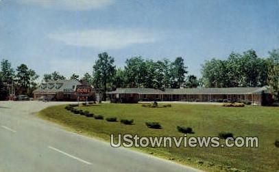 Laurel Lodge Motel & Restaurant - London, Kentucky KY Postcard