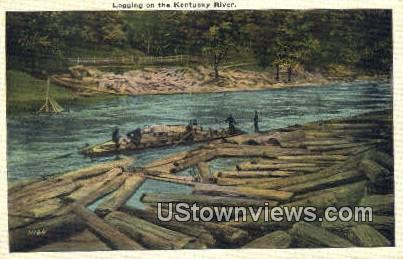 Kentucky River, Kentucky, KY, - Kentucky River Postcards Postcard
