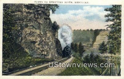 Cliffs - Kentucky River Postcards, Kentucky KY Postcard