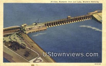 Kentucky Dam & Lake - Western Kentucky Postcards Postcard
