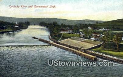 Government Lock - Kentucky River Postcards, Kentucky KY Postcard