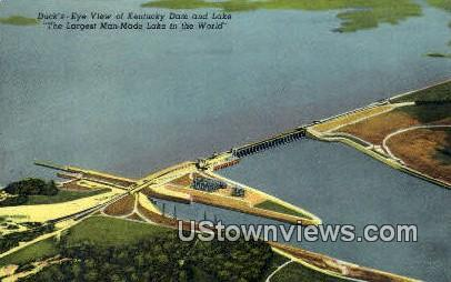 Kentucky Dam & Lake - Gilbertsville Postcard