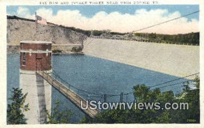 Dix Dam - High Bridge, Kentucky KY Postcard
