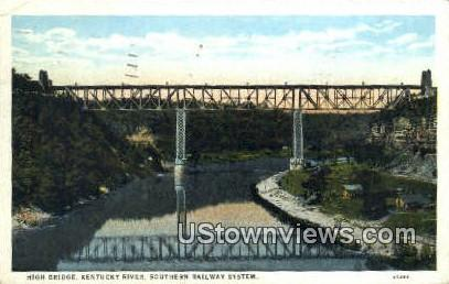 Kentucky River - High Bridge Postcard