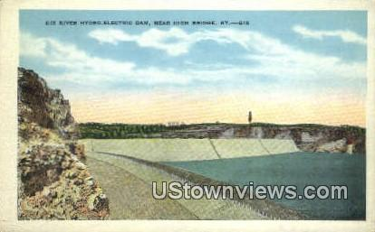 Dix River Hydro-Electric Dam - High Bridge, Kentucky KY Postcard