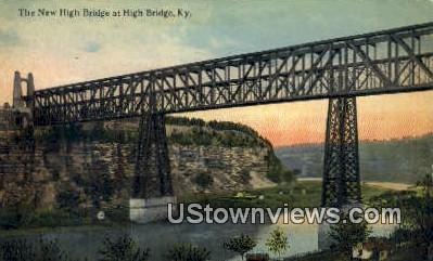 New High Bridge - Kentucky KY Postcard