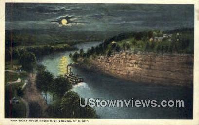 Kentucky River - High Bridge Postcard