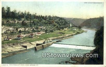 Government Lock - High Bridge, Kentucky KY Postcard
