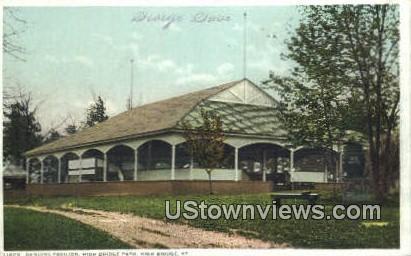 Dancing Pavilion, High Bridge Park - Kentucky KY Postcard