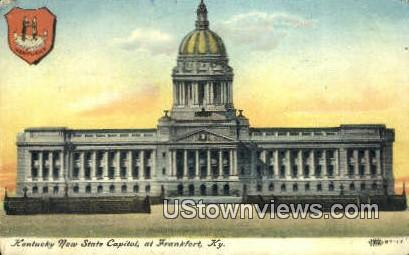 Kentucky New State Capitol - Frankfort Postcard