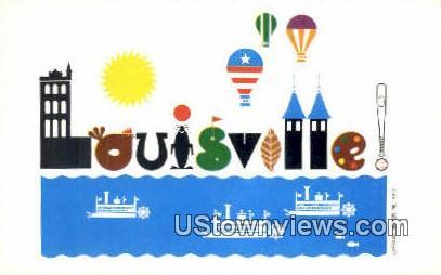 200 years and still growing - Louisville, Kentucky KY Postcard