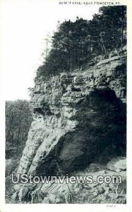 Bandit Cave - Princeton, Kentucky KY Postcard