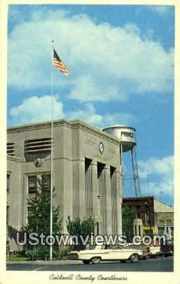 Caldwell County Courthouse - Princeton, Kentucky KY Postcard