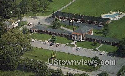 The Melrose Motel - Prospect, Kentucky KY Postcard