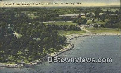 Kentucky Dm Village State Park - Kentucky Lake Postcards Postcard