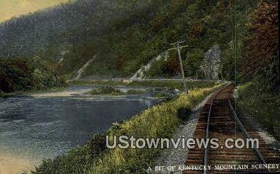 Kentucky Mountain - Misc Postcard