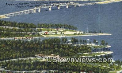 Kentucky Lake State Park - Western Kentucky Postcards Postcard