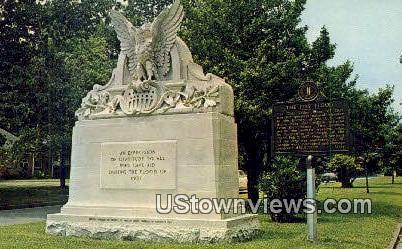 Historic Marker - Paducah, Kentucky KY Postcard
