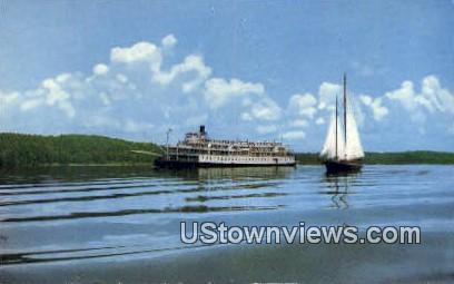 Delta Queen - Kentucky Lake Postcards, Kentucky KY Postcard