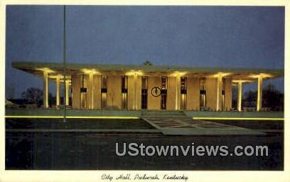 City Hall, Paducah - Kentucky KY Postcard