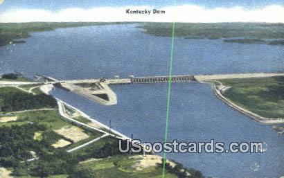 Kentucky Dam, Kentucky Postcard     ;     Kentucky Dam, KY - Kentucky Dam Postcards