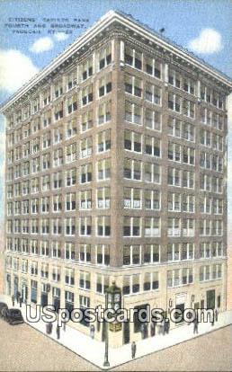 Citizens' Savings Bank - Paducah, Kentucky KY Postcard
