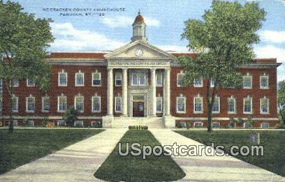 Mc Cracken County Courthouse - Paducah, Kentucky KY Postcard