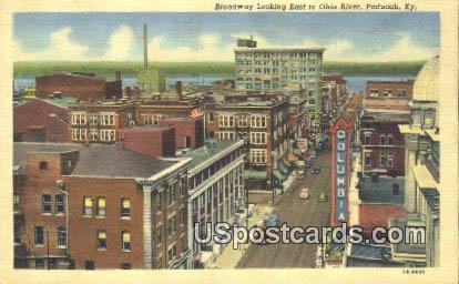 Broadway - Paducah, Kentucky KY Postcard