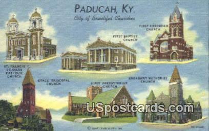 St Francis De Sales Catholic Church - Paducah, Kentucky KY Postcard