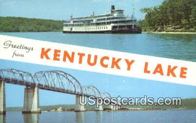 Kentucky Lake, Kentucky Postcard     ;     Kentucky Lake, KY - Kentucky Lake Postcards
