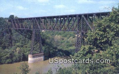 High Bridge - Kentucky River Postcards, Kentucky KY Postcard