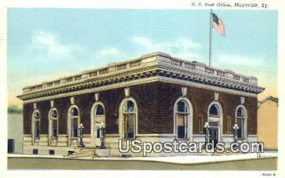 US Post Office - Maysville, Kentucky KY Postcard