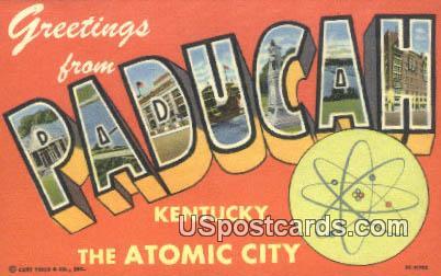 Paducah, KY Postcard     ;     Paducah, Kentucky