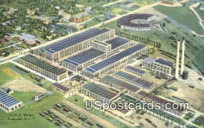 ICRR Shops - Paducah, Kentucky KY Postcard