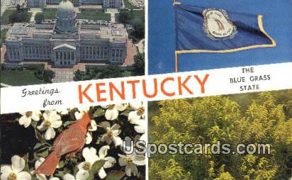 Kentucky State Capitol - Frankfort Postcard