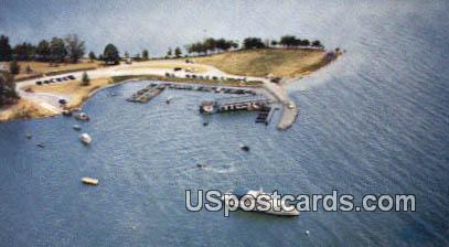 Coakley's Village Dock - Gilbertsville, Kentucky KY Postcard