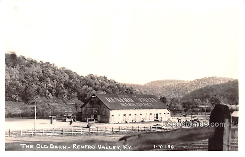 The Old Barn - Renfro Valley, Kentucky KY Postcard