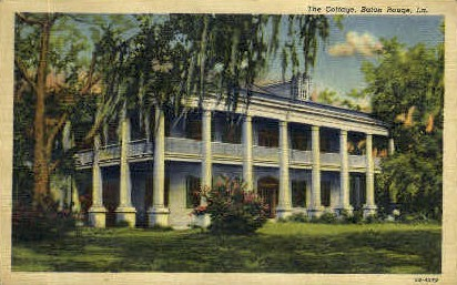 The Cottage - Baton Rouge, Louisiana LA Postcard