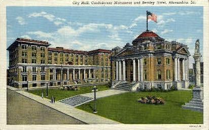 City Hall - Baton Rouge, Louisiana LA Postcard