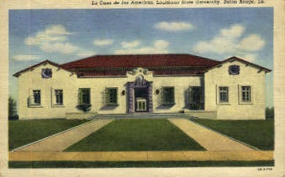Louisiana State University - Baton Rouge Postcard