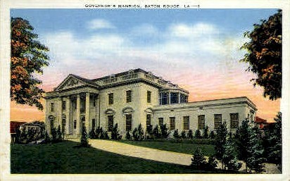 Governor's Mansion - Baton Rouge, Louisiana LA Postcard