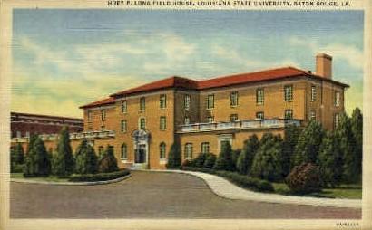 Huey P. Long Field House - Baton Rouge, Louisiana LA Postcard